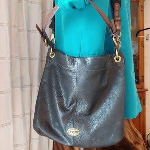 Fossil Hobo Explo.Long Live Vintage Bag